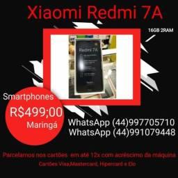 Xiaomi Redmi 7A 16G/32G 2ram novo na caixa