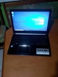 Notebook acer i5 7200, 4gb de memoria ddr4 hd 1tb tela de 15,6 polegadas