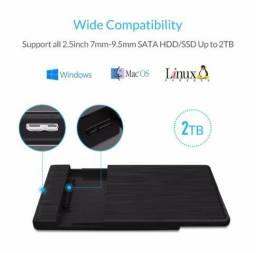 "Case para HD\SSD 2,5"" USB 3.0 - Produto Novo - Leio o anúncio!!!"