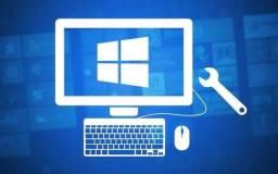 Manutenção - Formatação computadores e notebook Microsoft e. APPLE