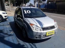 Ford Fiesta 2010 1.0 Flex Completo Prata Estudo Troca e Financio