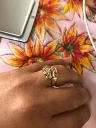 Anel pantera ouro