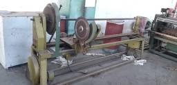 01 x Maquina de cortar rolos para viés - aplicação têxtil
