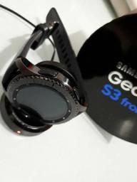Relógio samsung S3 gear frontier semi-novo