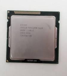 Processador Intel Pentium G620, 3MB, 2.6GHz LGA-1155<br><br>