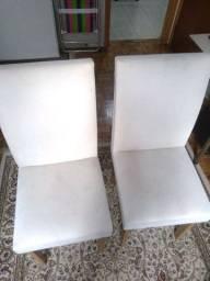 Vendo duas cadeiras 100reais