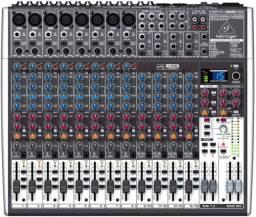 Amplificador caixas microfone