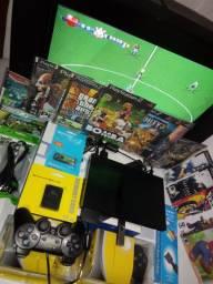 Playstation 2 no pen drive com 14 jogos $:229