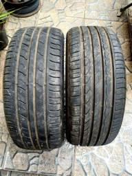 Par de pneus aro 17