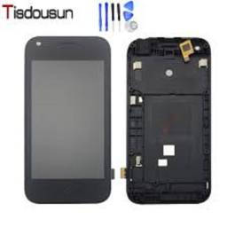 Tela Touch + Display Lcd Zte Blade L110 A110 Com Aro