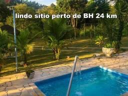 Lindo sítio porteira fechada completo 3qts piscina sauna Campo pomar 2.000 mts Escritura