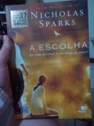 LIVRO A ESCOLHA - NICHOLAS SPARKS (seminovo)
