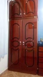 Armário duplex com 4 portas - Madeira de qualidade