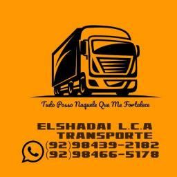 Empresa Elshadai L.c.a transporte frete é mudanças e serviços