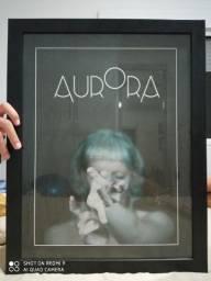 Poster Aurora Aksnes autografado