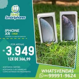 Iphone XR (128GB) - LACRADO (GARANTIA 1 ANO MUNDIAL APPLE) - TODAS AS CORES