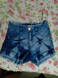 Vendo esse short jeans com lycra