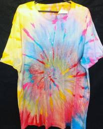 Camisa tie dye
