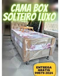 Cama box solteiro Luxo