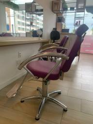 Cadeiras de Cabelereiro (conjunto com 2 ou unidade)