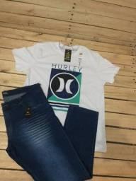 Camisetas calças  e bermudas masculinas