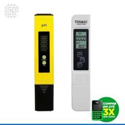 Medidor De Ph Digital PhMetro Calibração Automática + Medidor de Ec Tds Condutivimetro