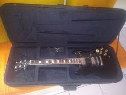 Guitarra memphis sg zerada com semi case e tarraxas gotoh c trava