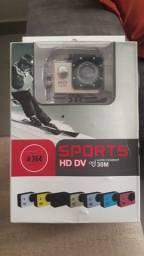 Câmera sports hd dv 1080p