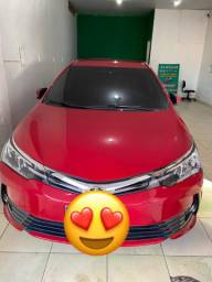 Corolla Gli upper 2018 já financiando.
