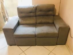 Vendo sofá 2 lugares retrátil