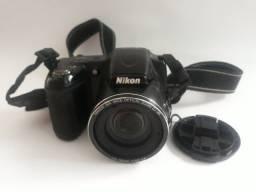 Câmera Digital Nikon Coolpix L820 Preta + Acessórios