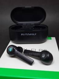 Fone De Ouvidos Bluetooth Blitzwolf Bw-flb2 gamer IPX4