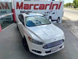 Ford Fusion AWD 2.0 Gasol- Int. Branco - 2015