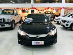 Civic EXL 2017; MontK veículos anuncia.