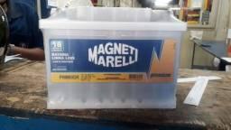 Bateria Magneti Marelli 60 Ah, saindo a R$299 avista a base de troca