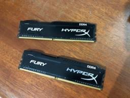 Memória RAM 8gb (2 x 4Gb) DR4 2133Mhz
