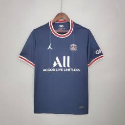 Nova camisa PSG titular 21-22 tamanho M, a pronta entrega