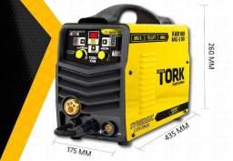 Inversor tork 180 amperes multifucao (mig/mma/tig)