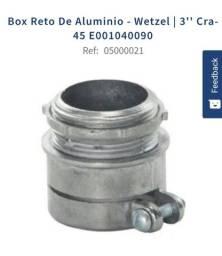 Box reto alumínio