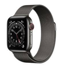 Apple Watch Customizado  S6 44mm GPS + Celular Graphite  with Milanese Loop