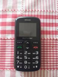 Celular Para Idoso Vita 3 Dual Chip Fm Mp3 Bluetooth Câmera SOS - Multilaser