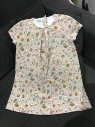 Vestido Zara tamanho 3-4 anos