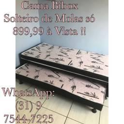 !!!BIBOX SOLTEIRO DE MOLAS!!! ENTREGAMOS!!!