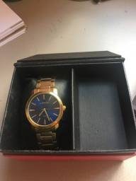 Relógio Feminino Dourado Lince