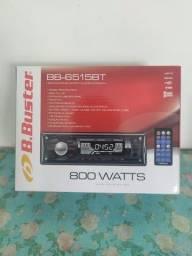 Radio Automotivo B.Buster - Bluetooth/usb, novo com garantia