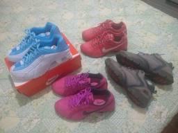 Nike Shox , bota da Oakley número 38