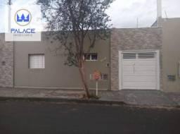 Casa com 3 dormitórios para alugar, 120 m² por R$ 1.600,00/mês - Paulista - Piracicaba/SP