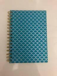 Caderno espiral capa brilhosa