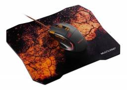 Kit Mouse Gamer Multilaser 3.200 Dpi + Mousepad! Novo Lacrado!
