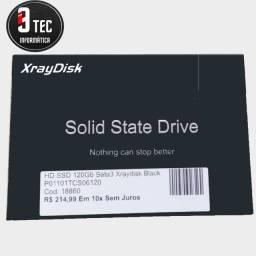 SSD 120GB novo e com garantia!!